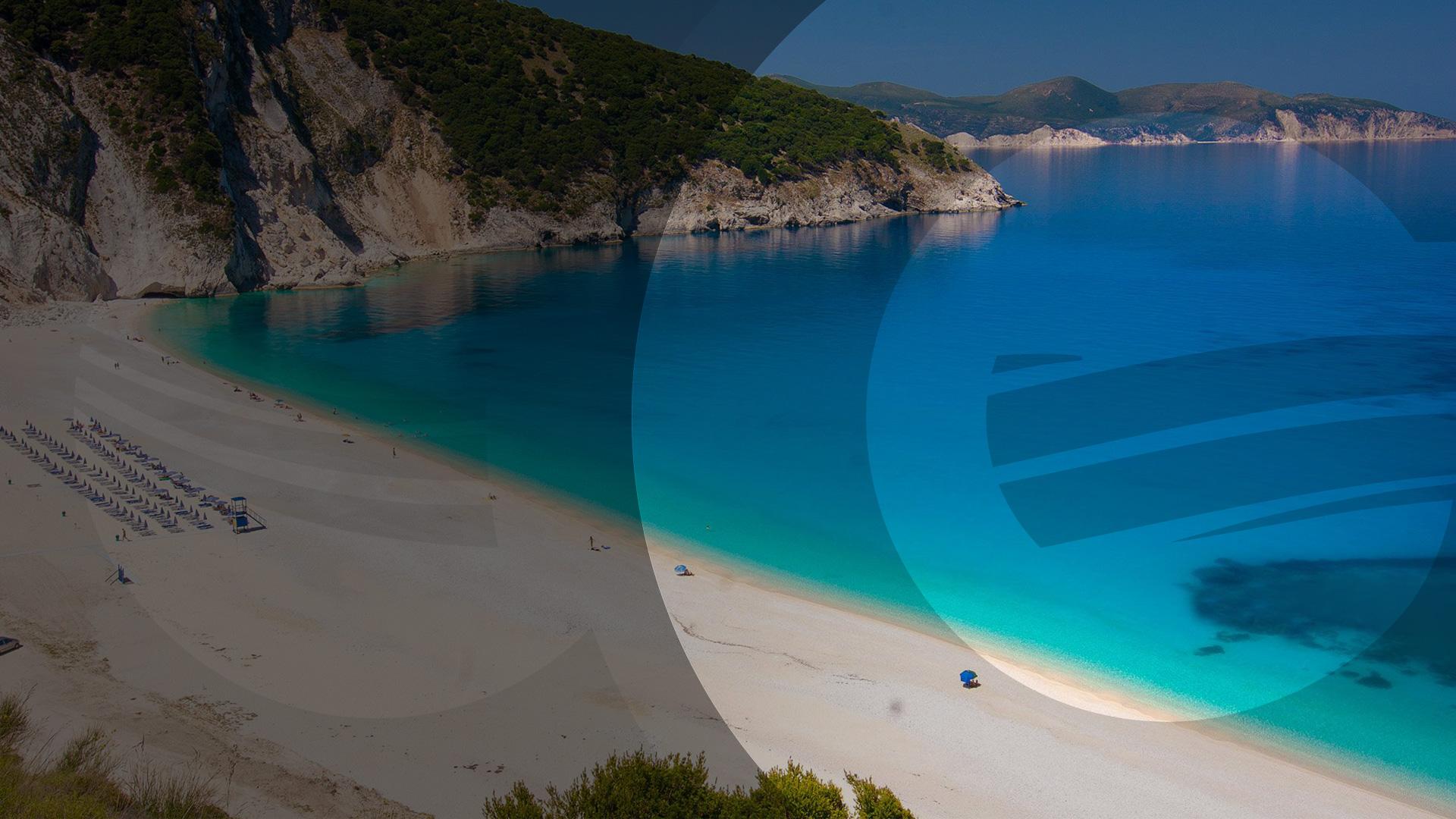 El Greco Tours - Myrtos beach Kefalonia